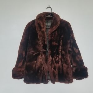 Vintage genuine fur coat
